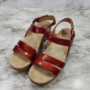Dansko Leather Sandals size 37